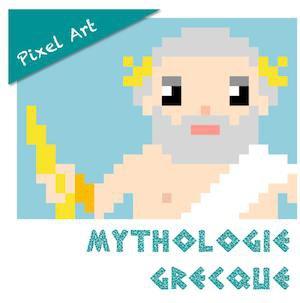 Pixel Art Mythologie Grecque Par Lutin Bazar Jenseignefr