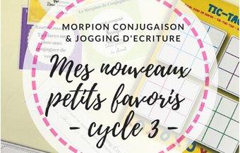 Image de Jogging d'écriture et Morpion de Conjugaison !
