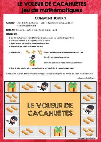 Image de Jeu maths : le voleur de cacahuètes