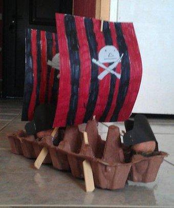Image de Arts Visuels: le bateau pirate