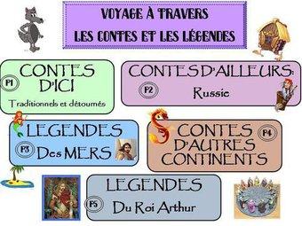 Image de Contes et legendes: programmation littérature