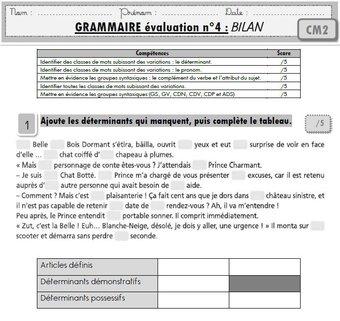 Image de Français CM2 : toutes mes évaluations « programmes 2016 »