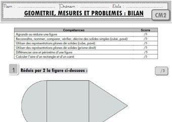 """Image de Maths CM2 : toutes mes évaluations """"programmes 2016"""""""