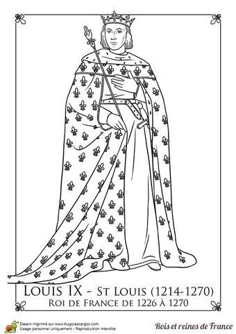 """Image de [histoire cm] louis ix, le """"roi chrétien"""" au xiiième siècle"""