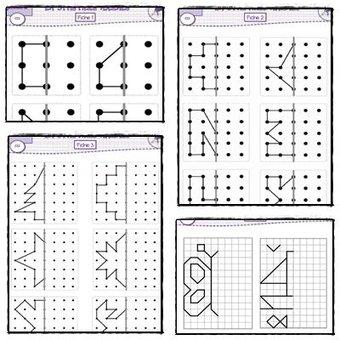 Image de [Géométrie] Des fiches de symétrie pour le CE2