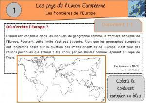 Image de Une séquence sur les pays de l'Union Européenne