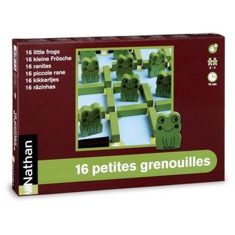 Image de 16 petites grenouilles