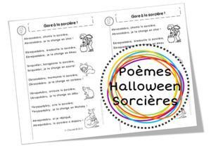 Image de Poèmes d'Halloween, sur les citrouilles, les sorcières, les chats noirs et compagnie ...
