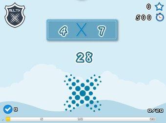 Image de [Jeux en ligne] Multix, entrainement intensif aux tables de multiplications