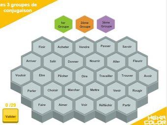 Image de [Jeu en ligne] Hexacolor – colorier c'est gagner – Cycle 2 / Cycle 3