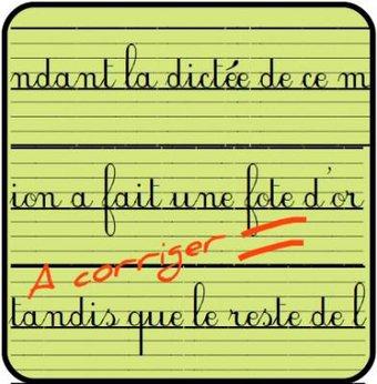 Image de [Orthographe] La dictée en classe de cycle 3
