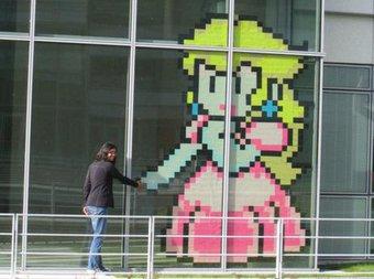 Image de [Art visuel] Pixel art en post-it – cycle 3