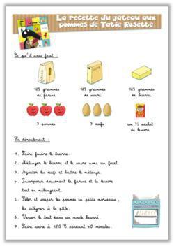 Image de Recette – Le gâteau aux pommes de Tatie Rosette