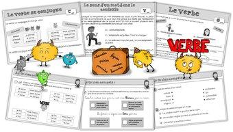 Image de Étude de la langue – Leçons CE1-CE2 en grammaire, vocabulaire et conjugaison !