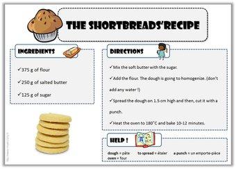 Image de Anglais – Recettes pour cuisiner avec vos élèves !