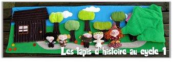 Image de Cycle 1 – Le tapis d'histoire ou Raconte tapis