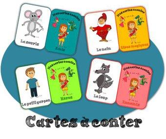 Image de Production d'écrit – Mes cartes à conter !