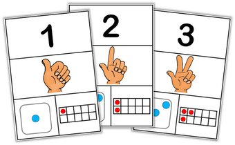 Image de Outils Cycle 1 – Affiches des nombres jusqu'à 10