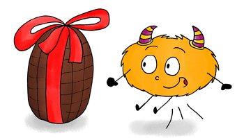 Image de Dessin – Mystik's trouve un œuf de Pâques !