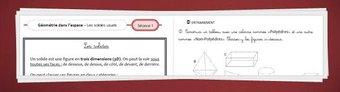 Image de Géométrie CM2 – Solides et patrons