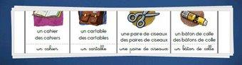 Image de Vocabulaire CP/CE1 – Banque outil de mots illlustrés