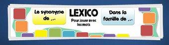 Image de Jeux fabriqués – Lexico, jeu de vocabulaire pour CE1