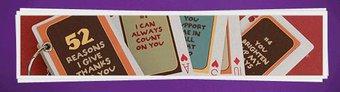 Image de Bricolage de fête : Le livre « 52 raisons qui font que je vous aime »