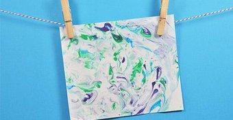 Image de Peindre une aurore boréale