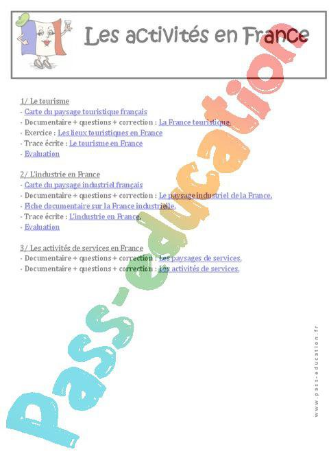 Géographie - Programme - Ce2 - Cm1 - Cm2 - Exercices ...