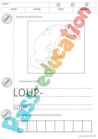 Image de Le petit chaperon rouge – Exploitation pédagogique – Maternelle – Petite section – Moyenne section – Cycle 1 – PS – MS
