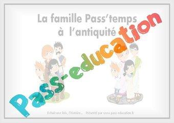 Image de La famille Pass'temps à l'antiquité – Ce2 – Cm1 – Diaporama