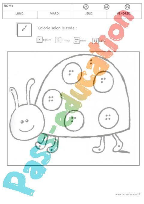Coloriage Magique 1 2 3 4 5 Maternelle Petite Section