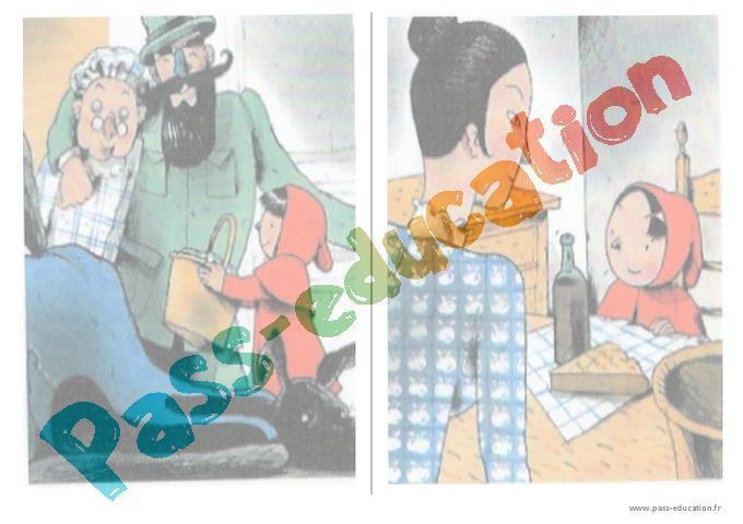 Le Petit Chaperon Rouge Exploitation Pédagogique Maternelle
