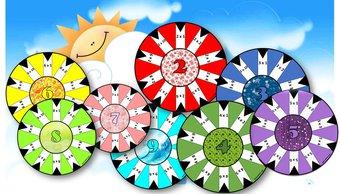 Image de Atelier calcul : Sunrise Tables