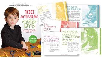 Image de 100 activités pour enfants DYS