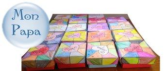 Image de Fête des pères : boite origami