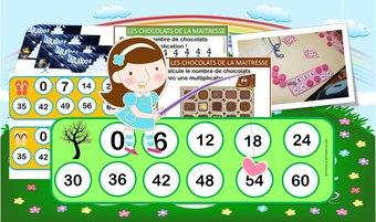 Image de Ateliers / jeux / activites autour de la multiplication