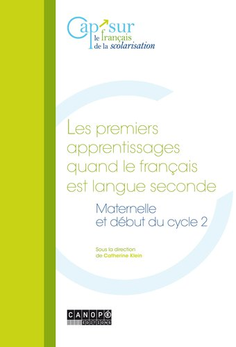Image de Les premiers apprentissages quand le français est langue seconde