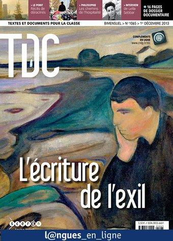 Image de L'écriture en exil (A2-B1)
