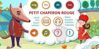 """Image de Apprendre des langues avec le conte de fées """"Le Petit Chaperon Rouge"""""""
