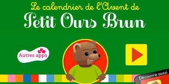 Image de Le calendrier de l'Avent de Petit Ours Brun