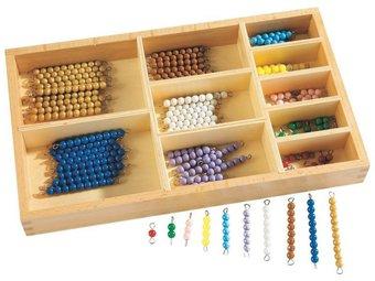 Image de Perles couleurs apprendre à compter