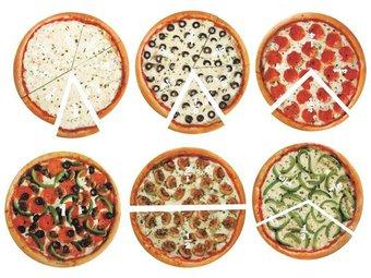 Image de Pizza fraction magnétique
