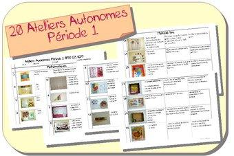 Image de Ateliers Autonomes Période 1 MS-GS