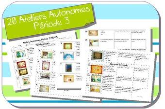 Image de Ateliers Autonomes Période 3 MS-GS