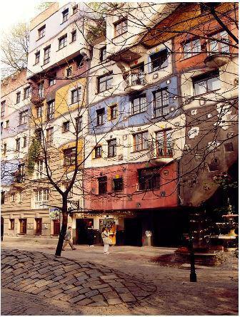 Image de Les maisons d'Hundertwasser