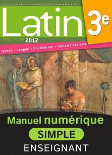 Latin 3e - Édition 2012
