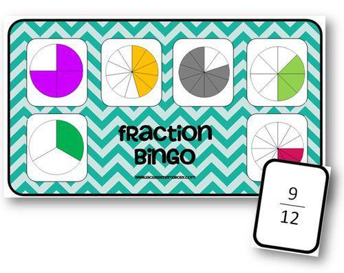 Fractions jeux d 39 enfants cycle 3 - Fraction cm1 a imprimer ...